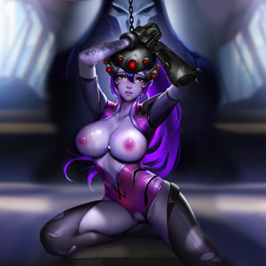Widowmaker Captured interactive wallpaper