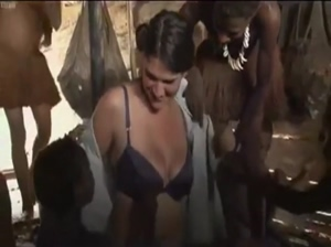 Cute Correspondent Gets Naked in African Tribe Documentary