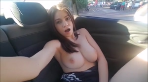Nice boobs masturbating