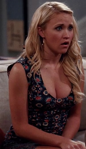 Emily Osment is a little nervous, but still hungry for your big cock.