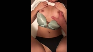 Showing Off My Sexy Asian Tits While Getting Fucked