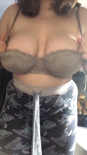 Lovely Natural Cup Tits