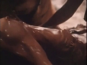 Kathy Shower...I'm talking about the Oiled Up Scene
