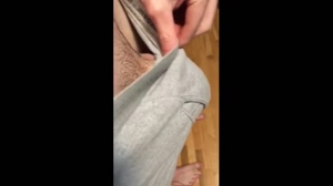 Huge cock reveal and flex 28