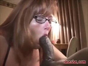 Wife Gags On Black Dick GIF by Pornwtube