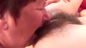 Very hairy young pussy