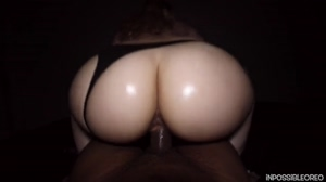Homemade Porn - Slim Thick Babe in Hottest Riding