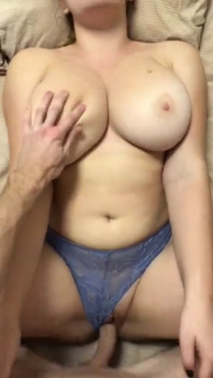 Wondering how good it would feel to fuck those tits