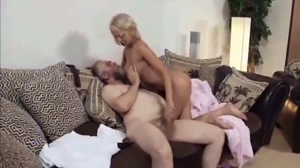 Mandy Dee with old man