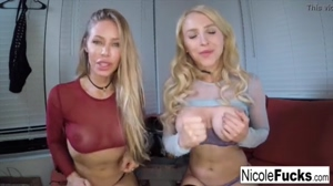 Two Very Hot Blondes JOI Training