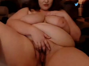 bbw big boobs and hairy pussy