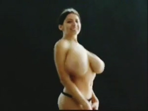 She'd tit-slap you to death with those knockers...
