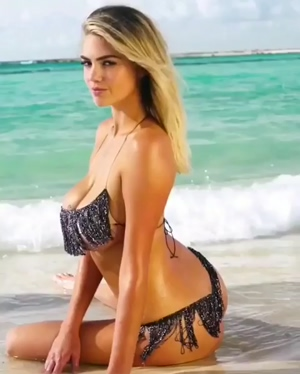 Kate Upton's tits are a gift from heaven!