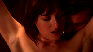 Dakota Johnson in 50 Shades