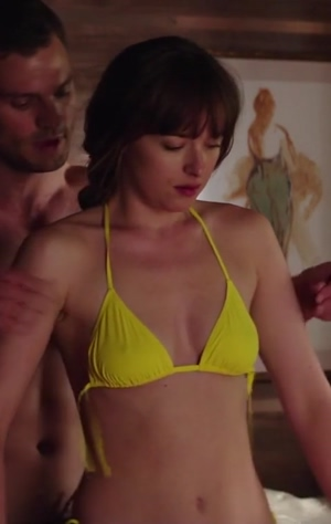 Dakota Johnson and her sexy tits