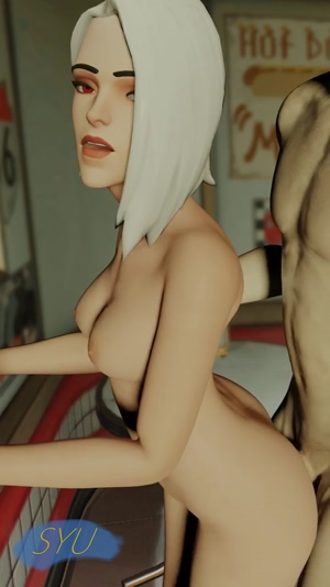 Ashe fucked from behind