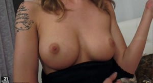 Belle Claire Reveals Perfect Natural Boobs