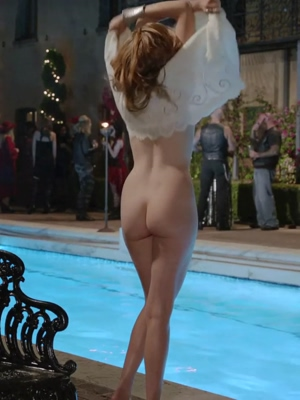 Maggie Grace's booty