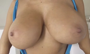 Ava Addams jiggles her tits