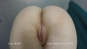 creampie from her shaved pussy