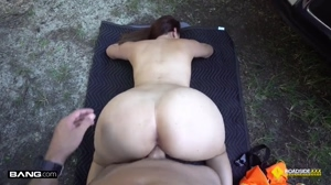 Big booty latina gets pounded