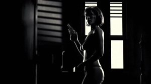 Used to set this scene of Carla Gugino in Sin City to repeat all the time when I was younger