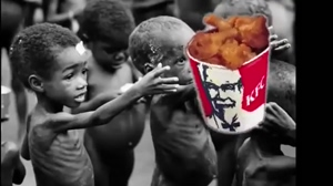 No KFC for the kids in Africa