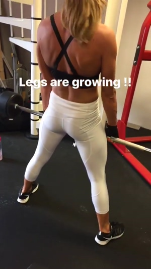 Legs are growing