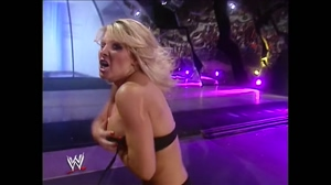 Jillian hall trying to cover her huge tits
