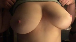 Perfect Huge Amateur Boobs Drop