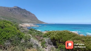 Day at Sandy Bay. Nudist beach in Cape Town.