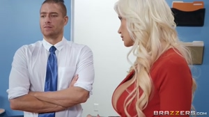 Big Tits At Work - Brittany Andrews
