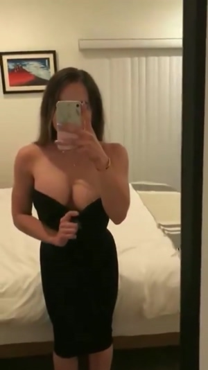 Tube dress reveal