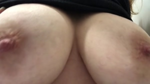 Hmm... love touching my big tits