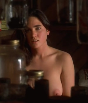 Jennifer Connelly's nude tits
