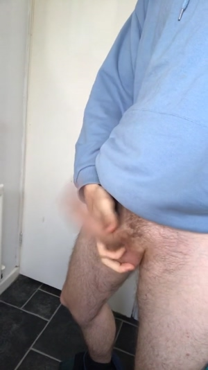 My swinging cock