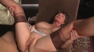Granny anal and cums in her mouth