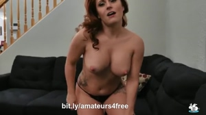 Hot Redhead in Lingerie Wants To Fuck