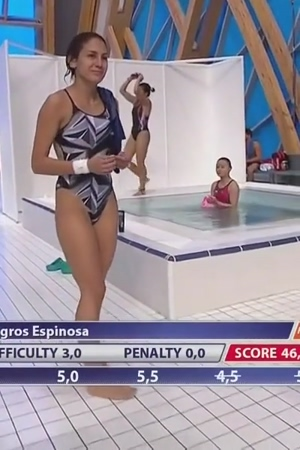 Paola Espinosa - Mexican 3m and 10m Diver