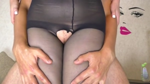 pussyjob in pantyhose