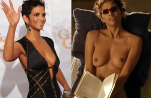 Halle Berry on/off