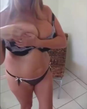 Gilf with massive tits