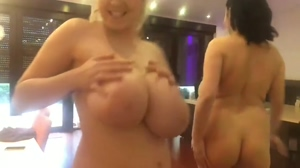 A gaggle of big tits