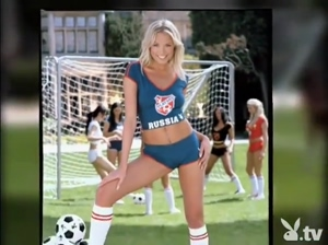 Anna Starykh - Playboy Girls Of Soccer