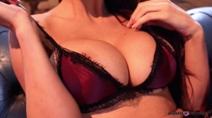 Alice Goodwin getting out of her underwear