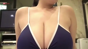 Fucking huge Asian titties