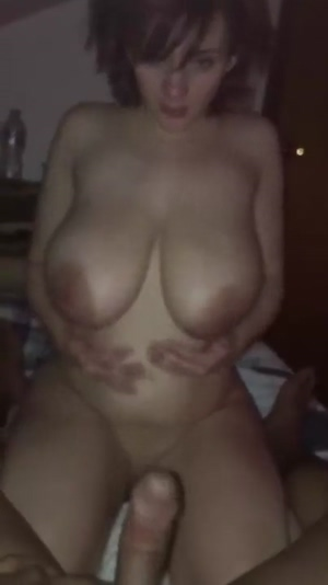 Huge Tits sucking skills