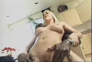 Busty Blonde Shaking Orgasm