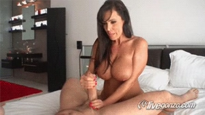 Lisa Ann finishing up