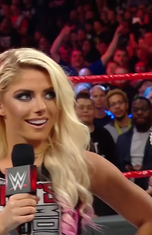 Alexa Bliss' outfit added a lot of plot to last nights WWE Raw